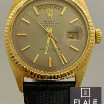 Rolex Day-Date 36 Yellow gold 36mm Grey No numerals