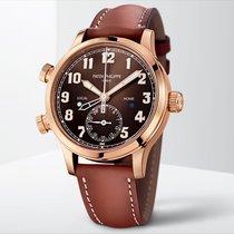Patek Philippe Travel Time Or rose 37.5mm Brun Arabes