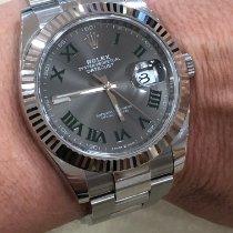 Rolex Datejust Acier 41mm Gris Sans chiffres France, Beausoleil
