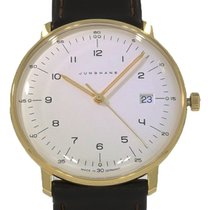 Junghans max bill Quarz Сталь 38mm Cеребро