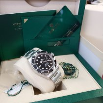 Rolex Submariner Date Steel 41mm Black No numerals United States of America, New Jersey, Totowa