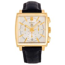 TAG Heuer Monaco Yellow gold 38mm Silver