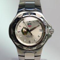 TAG Heuer Kirium Stahl 40mm Silber