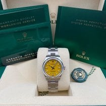 Rolex Oyster Perpetual 31 Steel 31mm Yellow No numerals United States of America, New York, New York