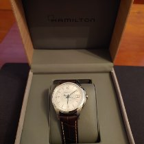 Hamilton Jazzmaster Viewmatic Steel 37mm Silver Arabic numerals United States of America, Illinois, Chicago
