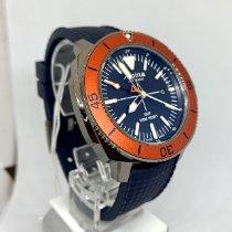 Alpina Seastrong Acero 44mm Azul Sin cifras