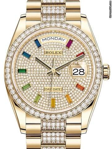 Rolex Day-Date 36 128348RBR 2020 новые