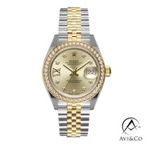 Rolex Lady-Datejust Steel 28mm Champagne No numerals United States of America, New York, New York