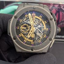 Hublot King Power Cerámica 48mm Negro