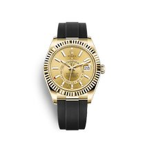 Rolex Sky-Dweller Yellow gold Champagne
