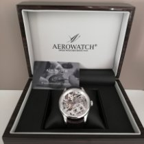 Aerowatch Rose gold 43mm Manual winding 50981 new
