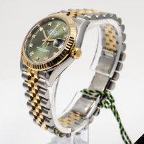 Rolex Datejust Steel 31mm Green