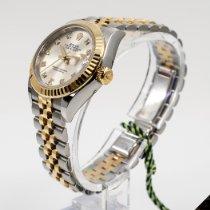 Rolex Lady-Datejust Acier 28mm Argent