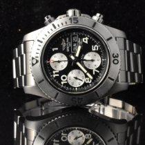Breitling Superocean Chronograph Steelfish Steel 44mm Black Arabic numerals
