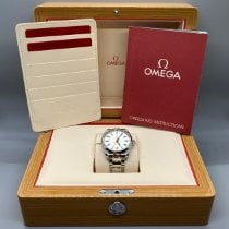 Omega Steel Automatic Silver No numerals 41mm pre-owned Seamaster Aqua Terra