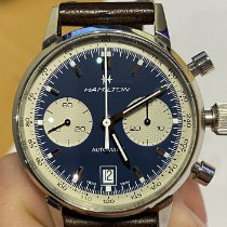 Hamilton Intra-Matic new 2018 Automatic Chronograph Watch with original box and original papers H38416541