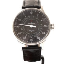 Meistersinger Pangaea Day Date PDD907 Good Steel 40mm Automatic
