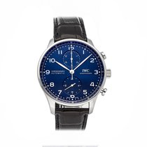 IWC Portuguese Chronograph IW3716-01 Very good Steel 41mm Automatic