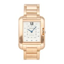 Cartier Tank Anglaise Rose gold 39.2mm Silver No numerals United States of America, Pennsylvania, Bala Cynwyd
