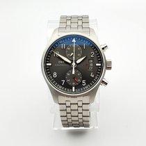 IWC Pilot Spitfire Chronograph Steel 43mm Grey Arabic numerals United States of America, Illinois, Northbrook