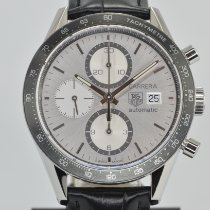 TAG Heuer Carrera Calibre 16 Steel 41mm Silver No numerals United States of America, California, Stockton