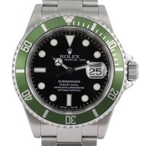 Rolex Submariner Date Steel 40mm Black No numerals Singapore