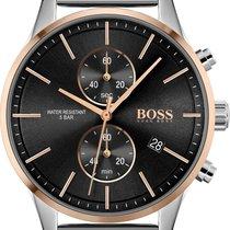 Hugo Boss Steel Chronograph 1513805 new