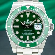 Rolex Submariner Date Steel 40mm Green United States of America, Massachusetts, Boston