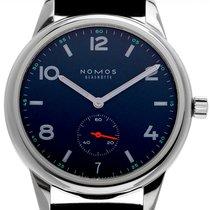 NOMOS Club Automat Datum neu 2020 Automatik Uhr mit Original-Box und Original-Papieren 776