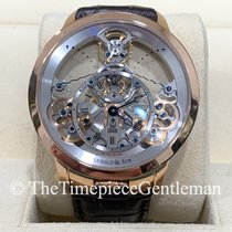 Arnold & Son Time Pyramid Rose gold Transparent United States of America, Texas, Dallas