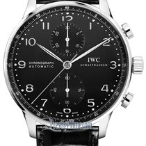 IWC Portuguese Chronograph new 2021 Automatic Chronograph Watch with original box IW371447