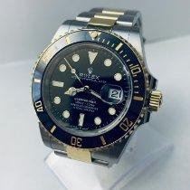 Rolex Submariner Date Сталь 41mm Синий Без цифр