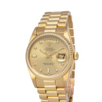 Rolex 18238 Yellow gold 1990 Day-Date 36 36mm pre-owned United States of America, New York, Hartsdale
