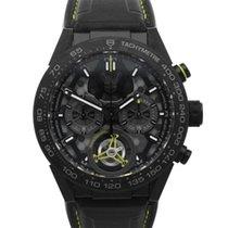 TAG Heuer Carrera Heuer-02T neu 2021 Automatik Chronograph Uhr mit Original-Box und Original-Papieren CAR5A8K.FT6172