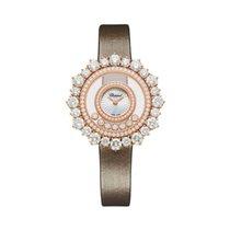 Chopard Happy Diamonds Růžové zlato 36mm