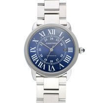 Cartier Ronde Croisière de Cartier occasion 42mm Bleu Acier