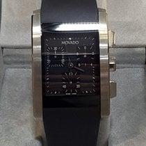 Movado Eliro nuevo 2004 Cuarzo Cronógrafo Reloj con estuche y documentos originales
