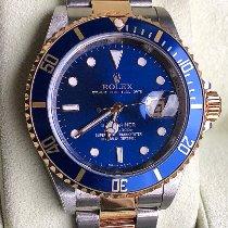 Rolex Submariner Date Goud/Staal 40mm Blauw Geen cijfers Nederland, Duiven