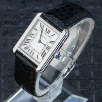 Cartier Staal 33mm Quartz 2716 tweedehands Nederland, 'S-Hertogenbosch