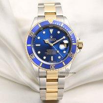 Rolex 16613 Or/Acier 2008 Submariner Date 40mm occasion