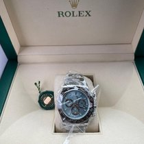 Rolex Daytona Platin 40mm Mavi Rakamsız
