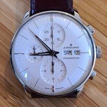 Junghans Meister Chronoscope Stål 40,7mm Sølv Ingen tal