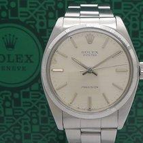 Rolex Oyster Precision Acero 35mm Plata Sin cifras