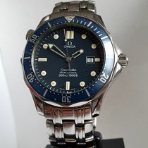 Omega 2541.80 Steel 1998 Seamaster Diver 300 M pre-owned