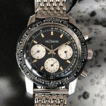 Jaeger-LeCoultre Deep Sea Chronograph Acero 40mm Negro Sin cifras