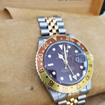 Rolex GMT-Master Gold/Steel 40mm Black No numerals United States of America, New Jersey, Totowa