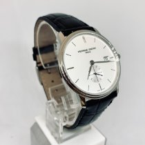 Frederique Constant Slimline Gents Steel 37mm White No numerals United States of America, New York, NY
