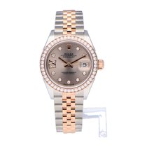 Rolex Lady-Datejust 279381RBR Very good Gold/Steel 28mm Automatic