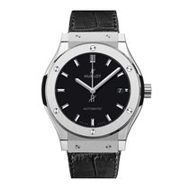 Hublot Classic Fusion 45, 42, 38, 33 mm Titanium 38mm Black No numerals United States of America, New York, New York