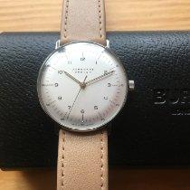 Junghans max bill Hand-winding Steel 34mm Silver Arabic numerals